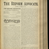 The Reform advocate, Vol. 32, no. 10