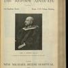 The Reform advocate, Vol. 32, no. 18