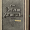 The Reform advocate, Vol. 33, no. 4