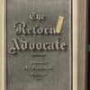The Reform advocate, Vol. 33, no. 6
