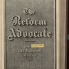 The Reform advocate, Vol. 33, no. 7
