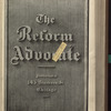 The Reform advocate, Vol. 33, no. 8