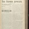 The Reform advocate, Vol. 33, no. 10