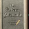 The Reform advocate, Vol. 33, no. 18