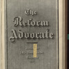 The Reform advocate, Vol. 33, no. 20