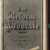 The Reform advocate, Vol. 33, no. 26
