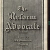 The Reform advocate, Vol. 34, no. 3