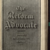 The Reform advocate, Vol. 34, no. 9