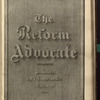 The Reform advocate, Vol. 34, no. 15