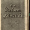 The Reform advocate, Vol. 34, no. 16