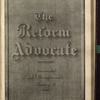 The Reform advocate, Vol. 34, no. 17