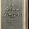 The Reform advocate, Vol. 35, no. 9