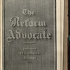 The Reform advocate, Vol. 35, no. 10