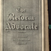 The Reform advocate, Vol. 35, no. 15
