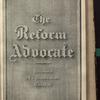 The Reform advocate, Vol. 35, no. 15