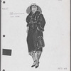 Costume sketches by Florence Klotz for the original Broadway production of Roza