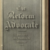 The Reform advocate, Vol. 37, no. 4