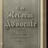 The Reform advocate, Vol. 37, no. 4
