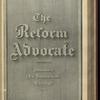 The Reform advocate, Vol. 37, no. 6
