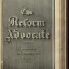 The Reform advocate, Vol. 37, no. 8