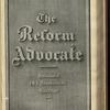 The Reform advocate, Vol. 37, no. 10