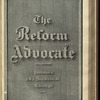 The Reform advocate, Vol. 37, no. 11