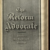 The Reform advocate, Vol. 37, no. 13