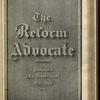 The Reform advocate, Vol. 37, no. 14