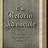 The Reform advocate, Vol. 37, no. 14