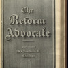 The Reform advocate, Vol. 37, no. 15