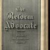 The Reform advocate, Vol. 37, no. 16