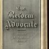 The Reform advocate, Vol. 37, no. 17