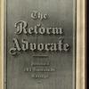 The Reform advocate, Vol. 37, no. 23