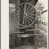 Display in front of blacksmith's shop, Abbeville, Louisiana.
