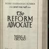The Reform advocate, Vol. [60], no. 6