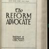 The Reform advocate, Vol. [60], no. 9