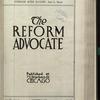 The Reform advocate, Vol. [60], no. 10