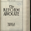 The Reform advocate, Vol. [60], no. 11
