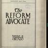 The Reform advocate, Vol. [60], no. 12