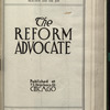 The Reform advocate, Vol. [60], no. 14