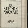 The Reform advocate, Vol. [60], no. 15