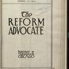 The Reform advocate, Vol. [60], no. 16