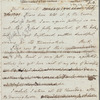 Burney, Charles Dr., letter to her father