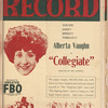 Motion picture record, Vol. 4, no. 3