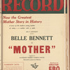 Motion picture record, Vol. 4, no. 13