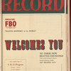 Motion picture record, Vol. 4, no. 14
