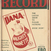 Motion picture record, Vol. 4, no. 19