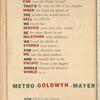 Motion picture record, Vol. 4, no. 25