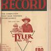 Motion picture record, Vol. 4, no. 31