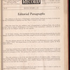 Motion picture record, Vol. 4, no. 40